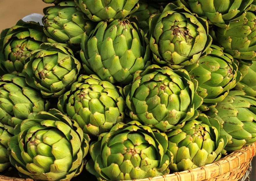 Alcachofa producto de temporada